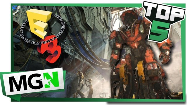 Top 5 Most Anticipated Game Trailers of E3 2018 | MGN
