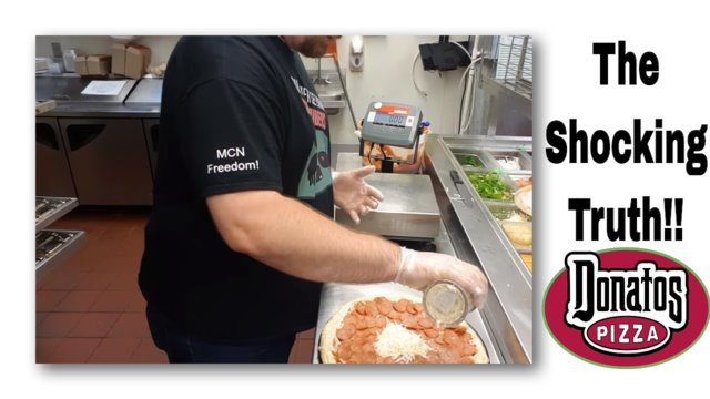 EXPOSED: How Donato's REALLY makes a pizza!   #FreedomFamily