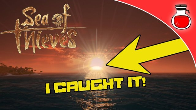 Sea of Thieves | THE RARE GREEN FLASH CAUGHT