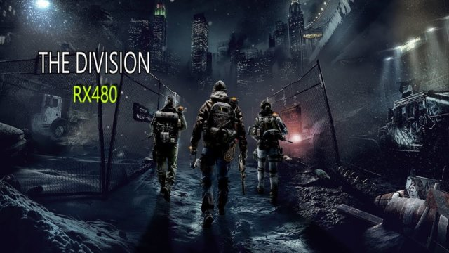 The Division RX480 & i7 8700k | FRAME RATE TEST | 1440P