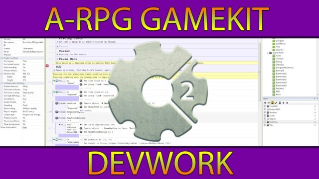 A-RPG Gamekit: Temperature System, Fire Spreading and Day/Night Cycle