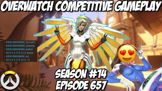 Why these tanks love this Mercy  | Season 14 Overwatch #657