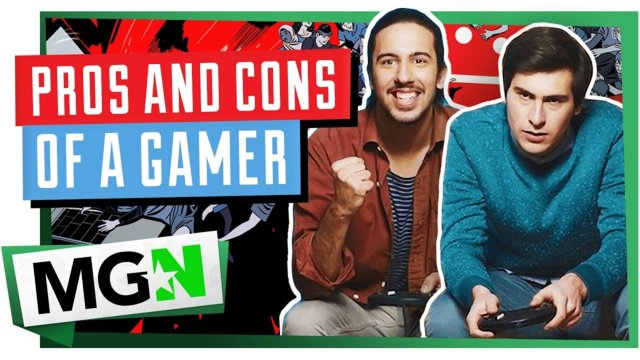 6 Pro's and 3 Con's About Gamers | Games on Queue | MGN (2019)
