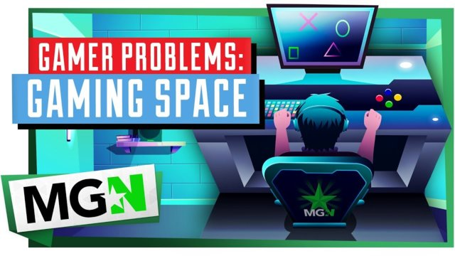 Content Creator Problems: How to get your Gaming Space| Games on Queue | MGN (2019)