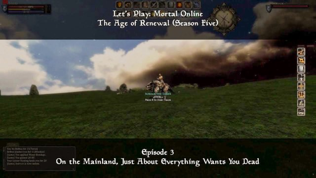 Episode 3: On the Mainland, Just About Everything Wants... | Let's Play: Mortal Online - Season Five