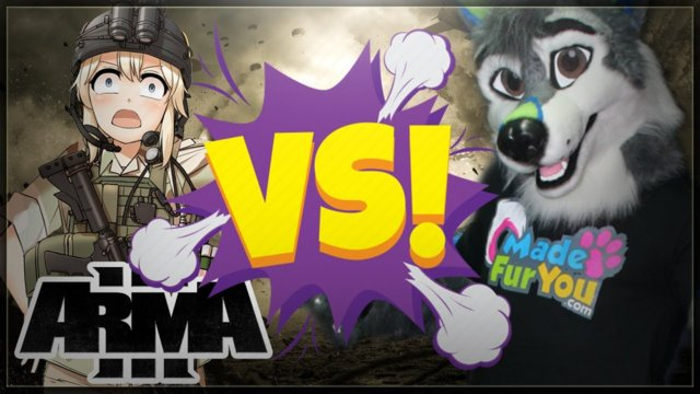 Arma 3 Weeb VS Furry War