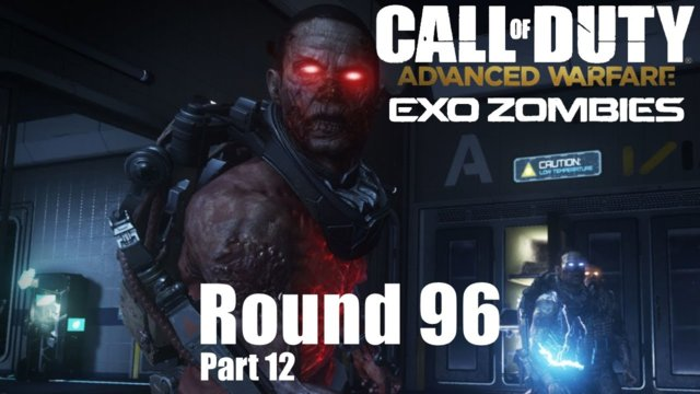 Call of Duty Advanced Warfare Exo Zombies - Outbreak Round 96 #12