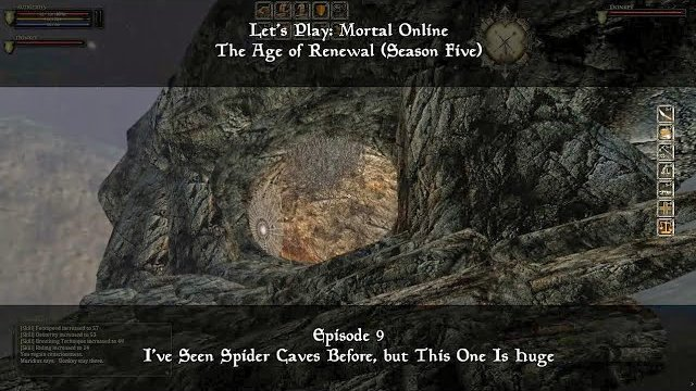 Episode 9: I've Seen Spider Caves Before, but This One... | Let's Play: Mortal Online - Season Five