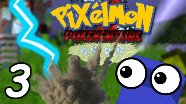 LIGHTNING!!! | Minecraft Pixelmon PokeVenture (part 3) #AD