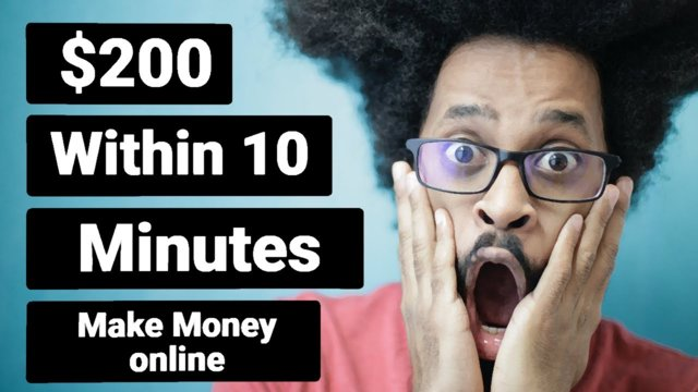 Earn Money Online $200 in 10 mins- Make Money from Home 2020 without Investment (Make Money Online)
