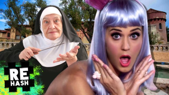 Katy Perry rejected by nuns, Golden ticket Revoked and more Giant Robot news!! #FreedomFamily