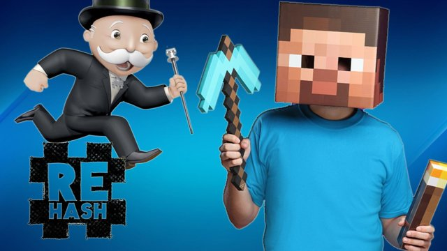 Monopoly: The Movie, and Minecraft gets a story mode!! #Rehash #FreedomFamily