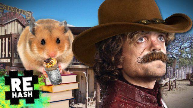 Western Game of Thrones Covers, Tiny Hamsters Eating Tiny Food #Rehash #FreedomFamily