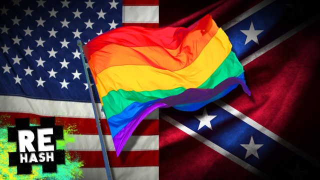 Confederate flag under fire, Gay marriage bans lifted #Rehash #FreedomFamily