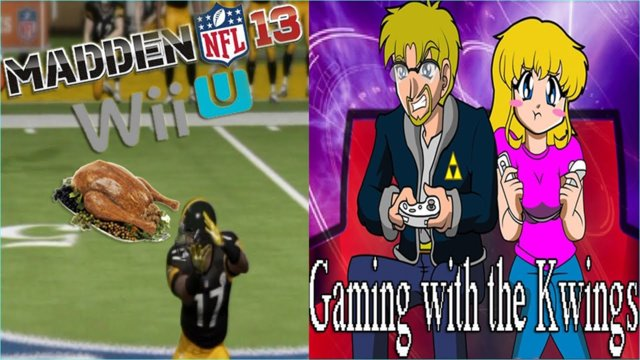 Madden 13 Wii U Steelers Vs DA Bears  (HD)