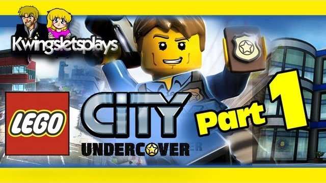 Lego City Undercover - LEGO City Undercover Walkthrough Part 1