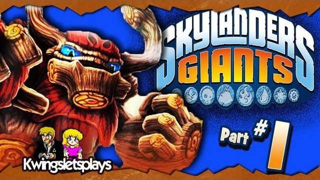 Skylanders Giants - Walkthrough Part 1 Time of the Giants (Wii U)
