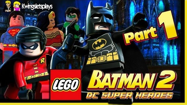 Lego Batman 2 - Walkthrough Wii U Part 1 Theatre Encore
