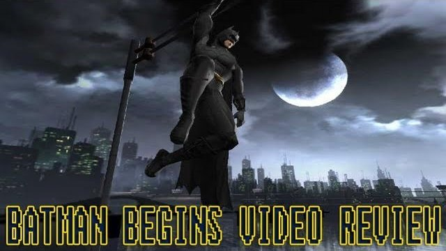 Batman Begins Game Review (Gc/Ps2/Xbox)