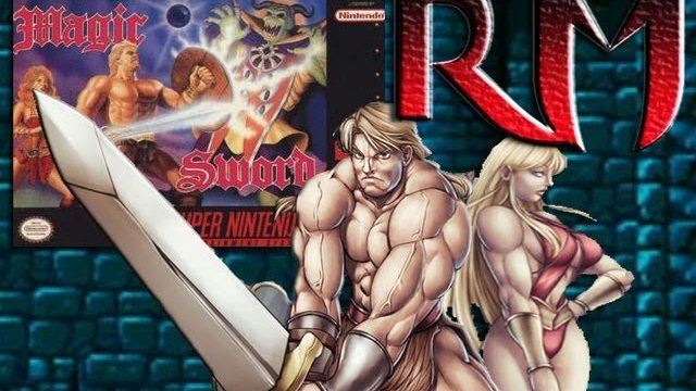 Retro Mondays - Magic Sword (Snes) Review