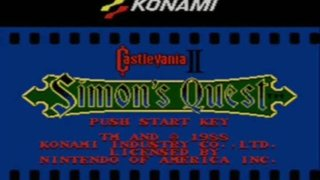 Castlevania 2: Simon's Quest Game Review TRAILER