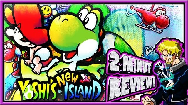 Two Minute Review - Yoshi's New Island (3DS)