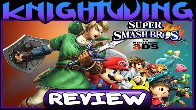 Super Smash Bros 3DS Video Review