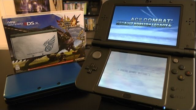NEW 3DS XL Unboxing & Review (Monster Hunter 4 Edition)